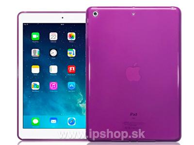 Ochranný kryt (obal) TPU na Apple iPad Air fialový