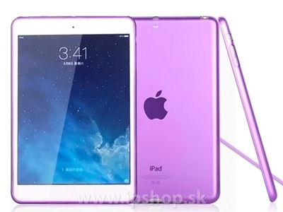 Ochranný gelový/gumový kryt (obal) na Apple iPad Mini 4 fialový