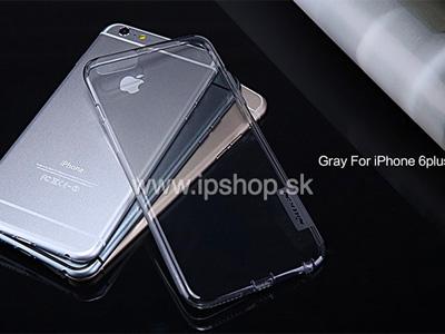 Luxusní ochranný kryt (obal) Nature Grey TPU na Apple iPhone 6 Plus / 6S Plus šedý)