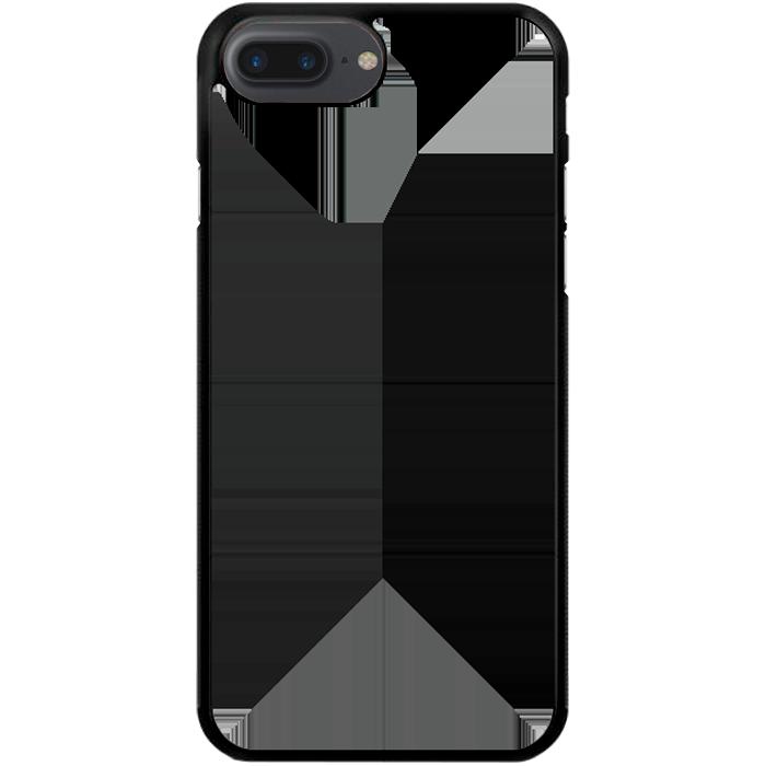 Kryt (obal) s potlačou (vlastnou fotkou) s čiernym plastovým okrajom pre  Apple iPhone 7 Plus   iPhone 8 Plus - iPshop fdb680c42b4