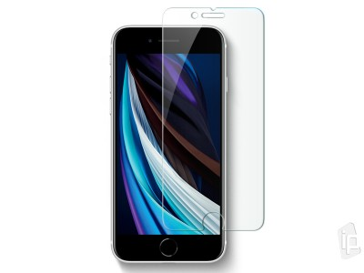2D Full Glue Tempered Glass Clear (číre) - Tvrdené sklo na displej na Apple iPhone 7 / 8 / SE 2020 **AKCIA!!