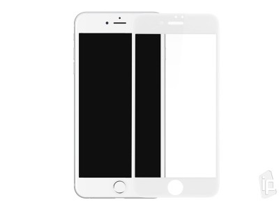 2.5D Full Glue Tempered Glass (biele) - Tvrdené sklo na displej na Apple iPhone SE 2020