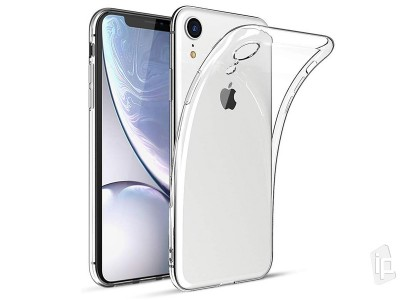 Ochranný kryt (obal) Ultra Slim TPU Clear (číry) na Apple iPhone XR