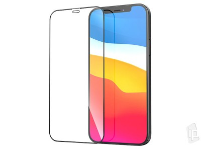 MyScreen 2.5D Full Glue Tempered Glass - Tvrdené sklo na celý displej na iPhone 12 mini
