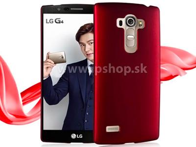 Zadní ochranný kryt (obal) na LG G4 S (H735) červený + fólie na displej