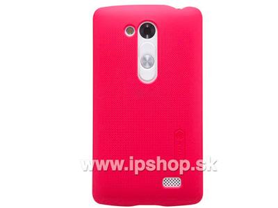 LG D290n L Fino / LG D295n L Fino Dual SIM Exclusive SHIELD Red - luxusní ochranný kryt (obal) červený + fólie na displej
