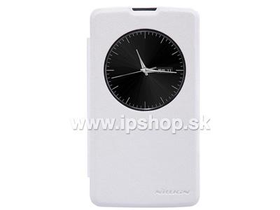 Window Side Flip pouzdro pro LG D290n L Fino / LG D295n L Fino Dual SIM bílé **AKCE!!