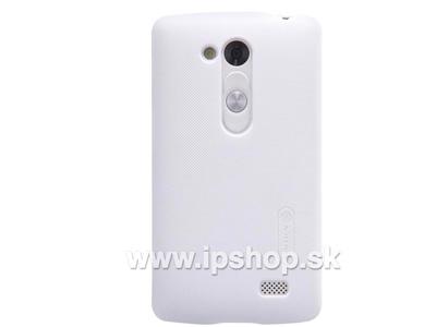 LG D290n L Fino / LG D295n L Fino Dual SIM Exclusive SHIELD White - luxusní ochranný kryt (obal) bílý + fólie na displej