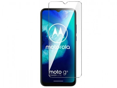 Tempered Glass Clear (číre) - Tvrdené sklo na displej pre Moto G8 Power Lite