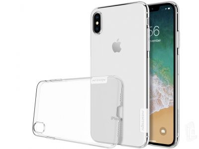 Nature TPU Clear (��ry) - Ochrann� kryt (obal) na Apple iPhone XS Max