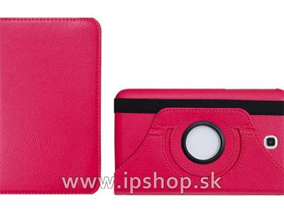Pouzdro na Samsung Galaxy Tab 3 7.0 SmartStand Hot Pink (růžové) + fólie na displej