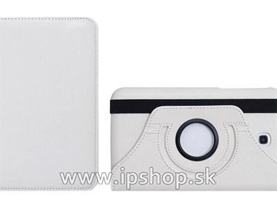 Pouzdro na Samsung Galaxy Tab 3 7.0 SmartStand White (bílé) + fólie na displej