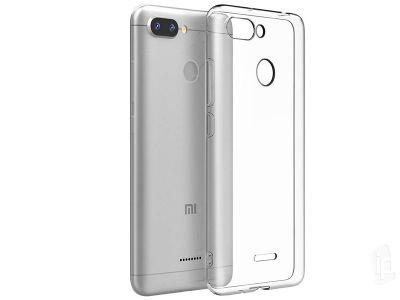 Ochranný kryt (obal) TPU Ultra Slim Clear (číry) na Xiaomi Redmi 6 13c651137dd