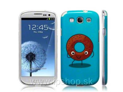 """Ochranný kryt (obal) na Samsung Galaxy S3 / S3 Neo """"donutka"""""""