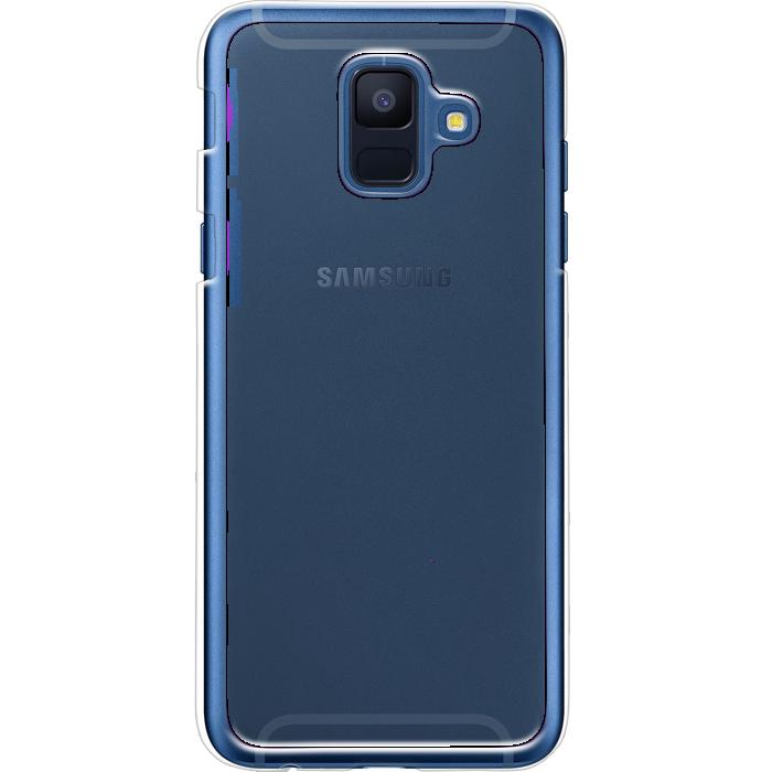 Kryt (obal) s potlačou (vlastnou fotkou) s priesvitným plastovým okrajom  pre Samsung Galaxy A6 - iPshop ebc3e170ff7