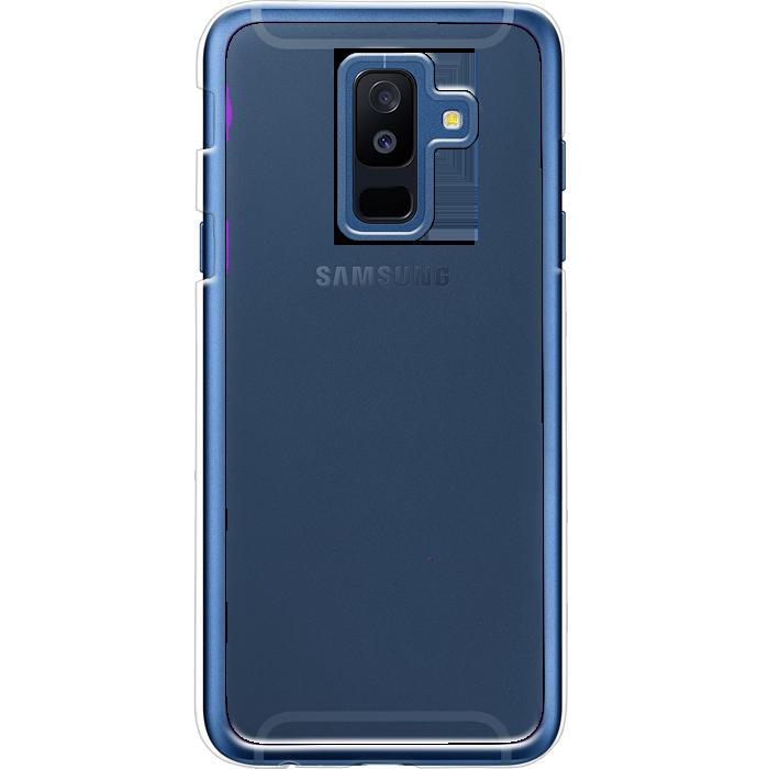 Kryt (obal) s potlačou (vlastnou fotkou) s priesvitným plastovým okrajom  pre Samsung Galaxy A6 Plus - iPshop 03dd419b641