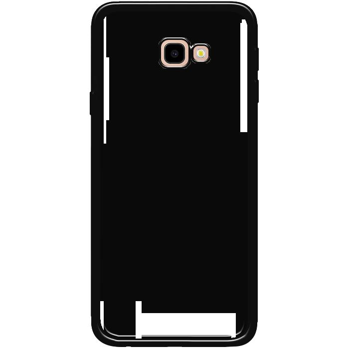 Kryt (obal) s potlačou (vlastnou fotkou) s čiernym gumeným okrajom pre Samsung  Galaxy J4 Plus - iPshop e0e7039ff09