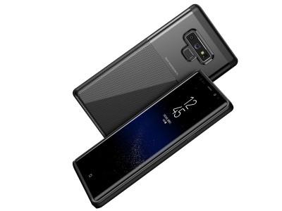 a800930e6 Carbon Fiber Black (čierny) - Odolný ochranný kryt (obal) pre Samsung Galaxy