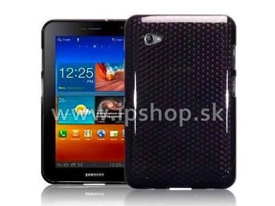Ochranný gelový/gumový kryt (obal) na Samsung Galaxy Tab 7.0 Plus (GT-P6200) Black Diamond + fólie na displej