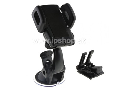X5 Universal Smartphone Car Holder - univerzálny držiak do auta + airvent adapter
