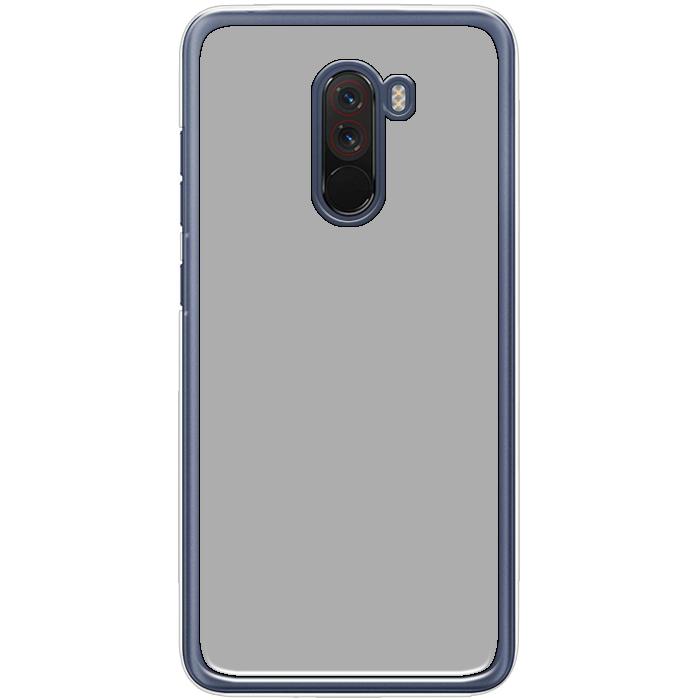 Kryt (obal) s potlačou (vlastnou fotkou) s priesvitným plastovým okrajom  pre Xiaomi Pocophone F1 - iPshop 696ec07bd7a