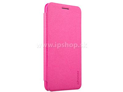 Luxusní Side Flip pouzdro pro Asus ZenFone C ZC451CG růžové